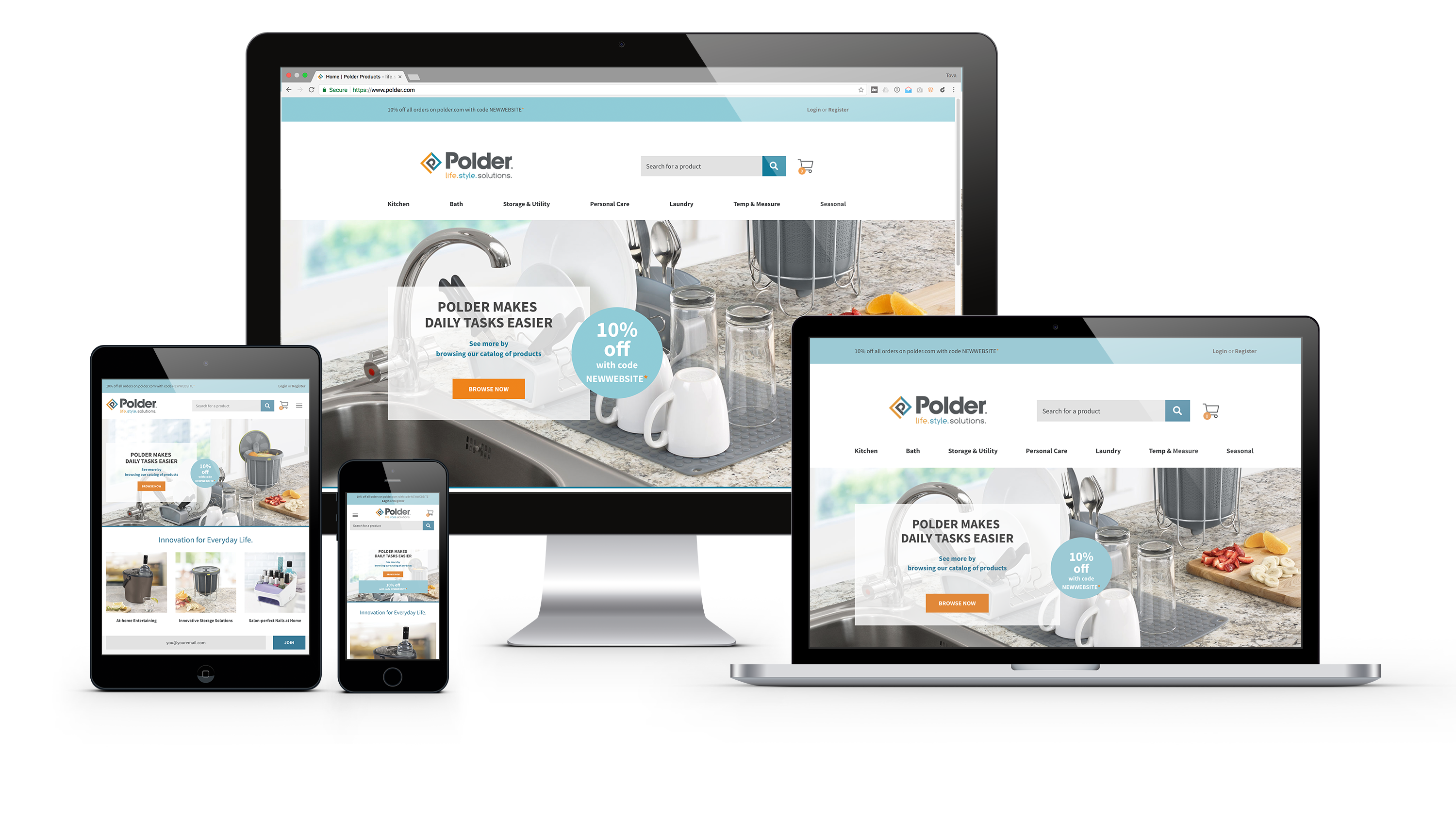 Polder e-Commerce Website 1