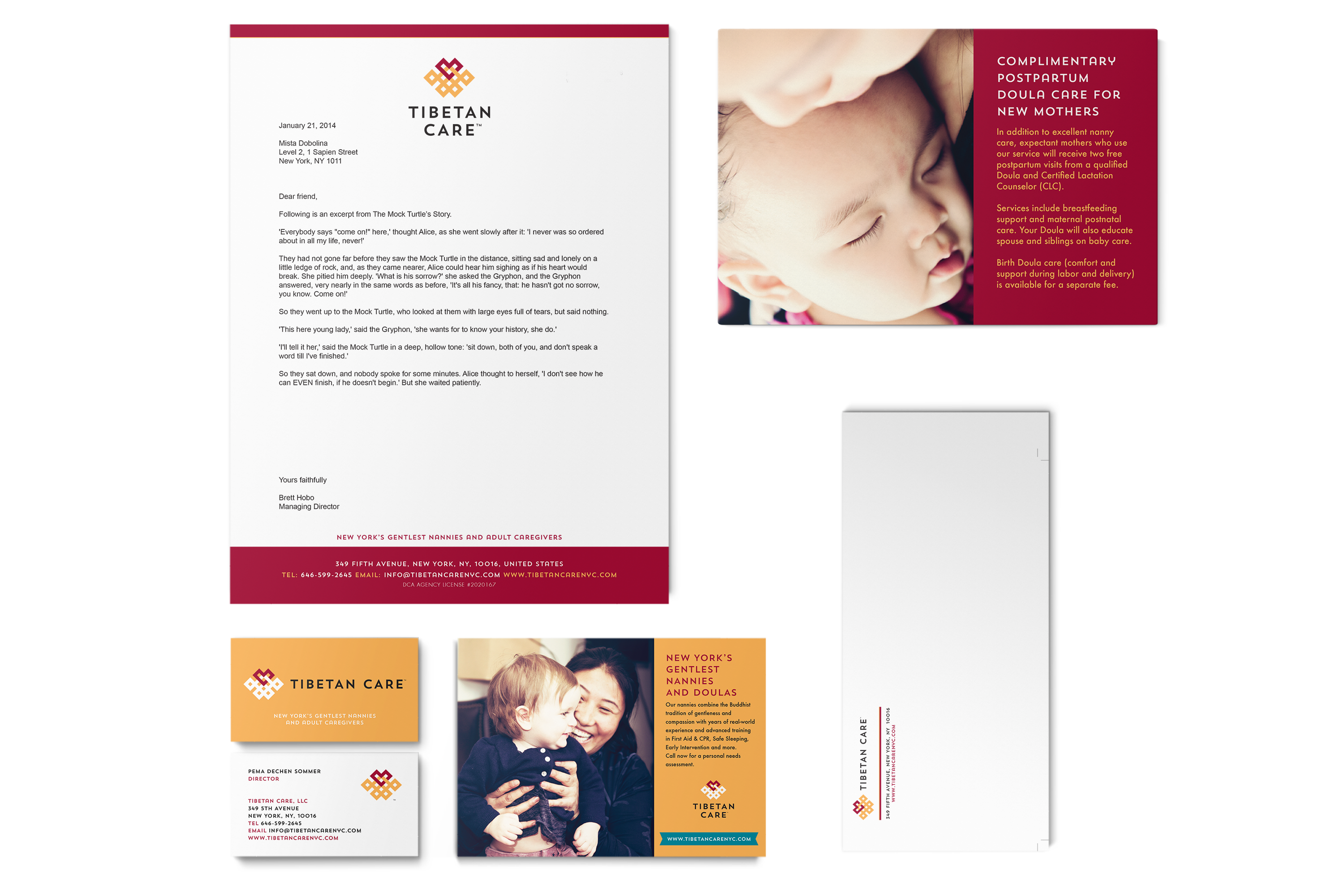 Tibetan Care Identity and Marketing Design 1