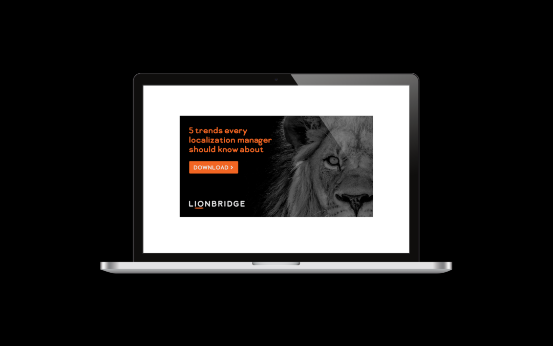 Lionbridge Banner Advertising
