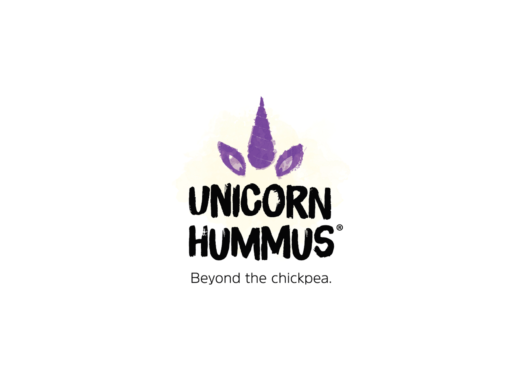 Unicorn Hummus Branding and Packaging Design